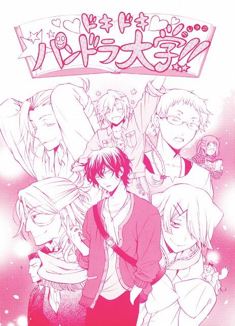 Jun Mochizuki, Xebec, Pandora Hearts, Claude Nightray, Emily (Pandora Hearts)