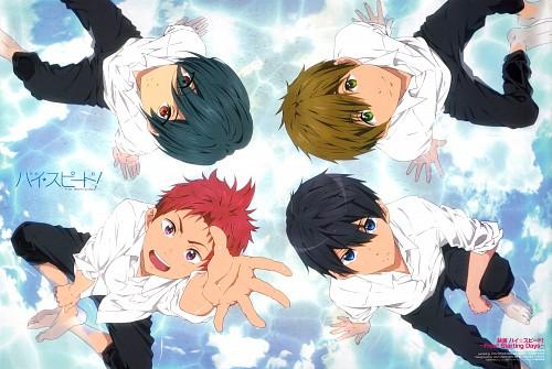 Kayo Hikiyama, Kyoto Animation, Free!, Makoto Tachibana, Haruka Nanase (Free!)