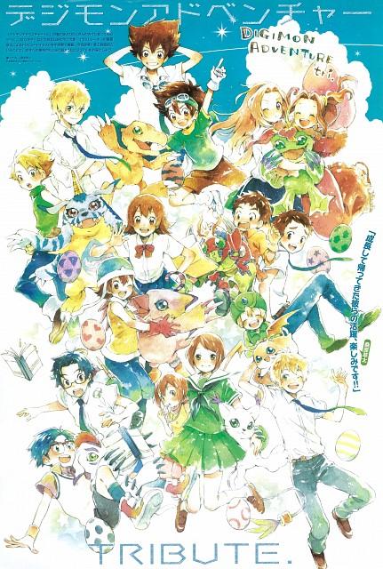 Souta Kuwahara, Digimon Adventure, Koushirou Izumi, Sora Takenouchi, Takeru Takaishi
