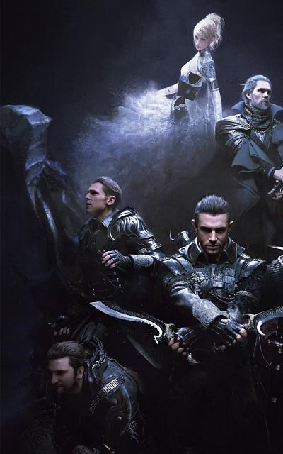 Final Fantasy XV, Lunafreya Nox Fleuret, Nyx Ulric, Libertus Ostium, Luche Lazarus