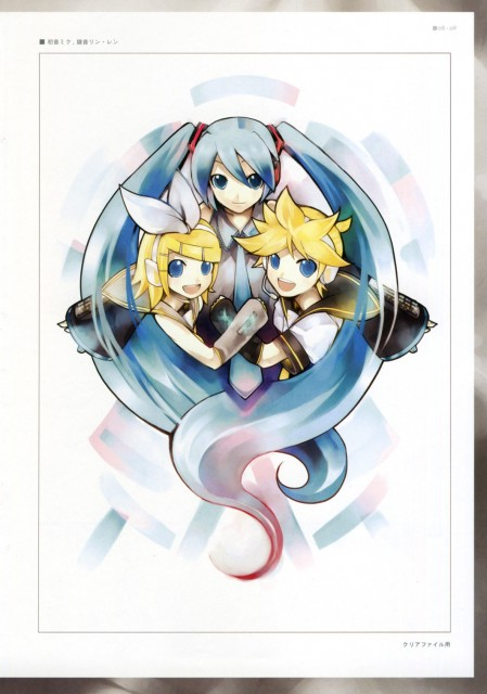 KEI, Vocaloids Unofficial Illustrations, Vocaloid, Len Kagamine, Rin Kagamine
