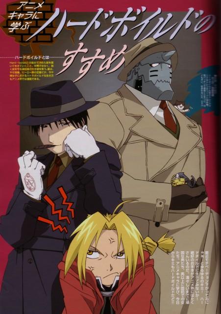 BONES, Fullmetal Alchemist, Edward Elric, Roy Mustang, Alphonse Elric