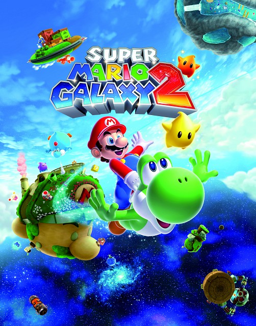 Nintendo, Super Mario, Luma, Yoshi, Official Digital Art