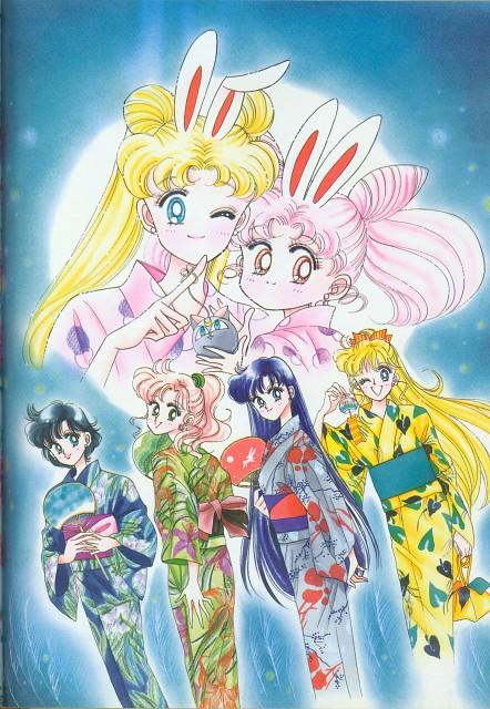 Naoko Takeuchi, Bishoujo Senshi Sailor Moon, BSSM Original Picture Collection Vol. II, Usagi Tsukino, Ami Mizuno