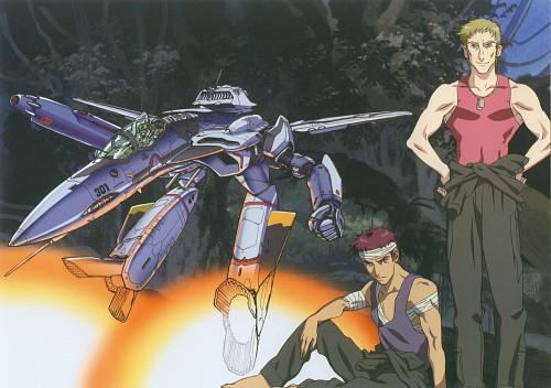 Bandai Visual, Macross Zero, Roy Focker, Shin Kudou