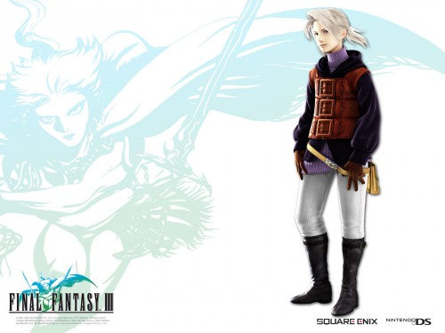 Square Enix, Final Fantasy III, Final Fantasy XII, Official Wallpaper