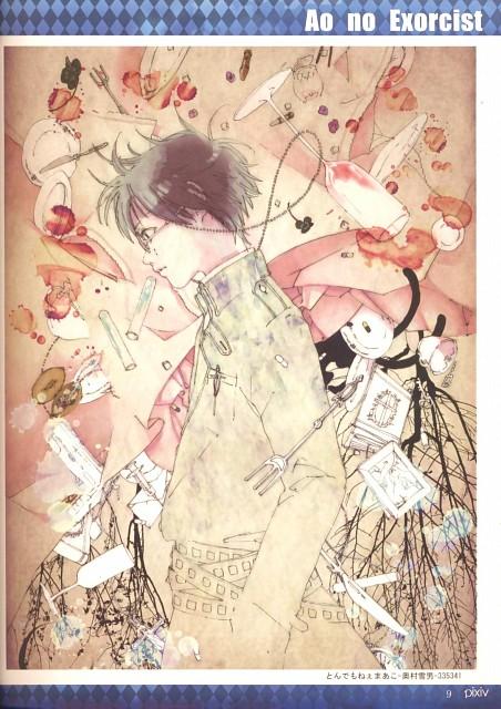 A-1 Pictures, Ao no Exorcist, Yukio Okumura, Pixiv