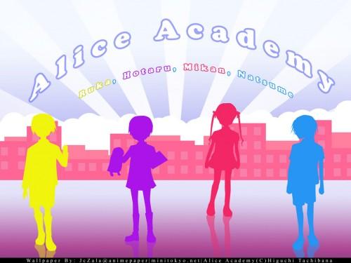 Tachibana Higuchi, Gakuen Alice, Hotaru Imai, Mikan Sakura, Ruka Nogi Wallpaper