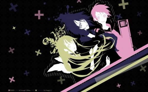 Miwa Shirow, Dogs: Bullets and Carnage, Mimi (Dogs: Bullets And Carnage), Naoto Fuyumine, Nill Wallpaper