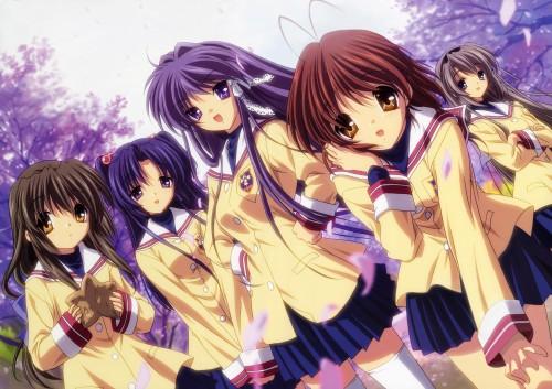Kyoto Animation, Clannad, Nagisa Furukawa, Fuko Ibuki, Kotomi Ichinose