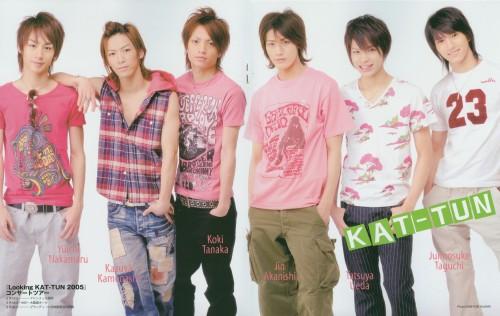 Jin Akanishi, Tatsuya Ueda, KAT-TUN, Koki Tanaka, Kazuya Kamenashi