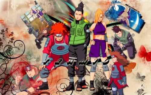 Masashi Kishimoto, Studio Pierrot, Naruto, Chouji Akimichi, Ino Yamanaka Wallpaper