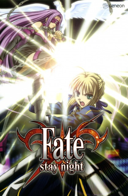 Studio DEEN, TYPE-MOON, Fate/stay night, Saber, Rider (Fate/stay night)