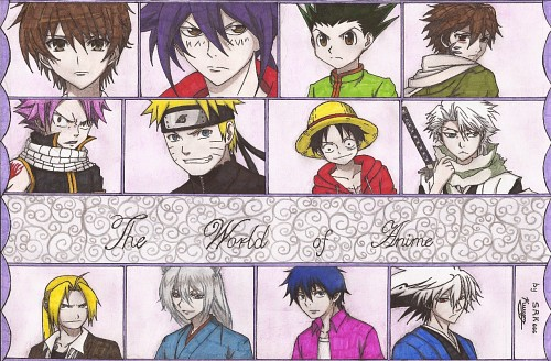 Yoshihiro Togashi, Fairy Tail, Lelouch of the Rebellion, One Piece, Kamisama Hajimemashita