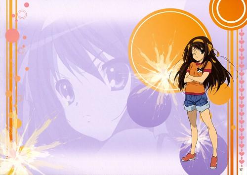 Kyoto Animation, The Melancholy of Suzumiya Haruhi, Suzumiya Haruhi Mini Illustration Book, Haruhi Suzumiya