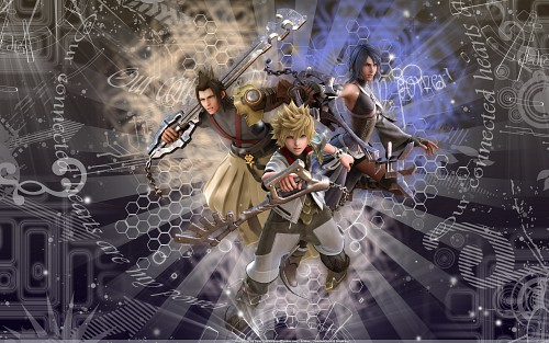 Square Enix, Kingdom Hearts, Aqua (Kingdom Hearts), Terra, Ventus Wallpaper