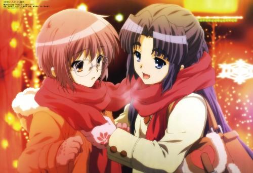 Kyoto Animation, The Melancholy of Suzumiya Haruhi, Ryoko Asakura, Yuki Nagato, Megami Magazine