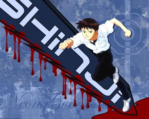 Yoshiyuki Sadamoto, Gainax, Neon Genesis Evangelion, Shinji Ikari Wallpaper