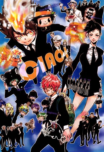 Akira Amano, Artland, Katekyo Hitman Reborn!, Tsunayoshi Sawada, Daemon Spade