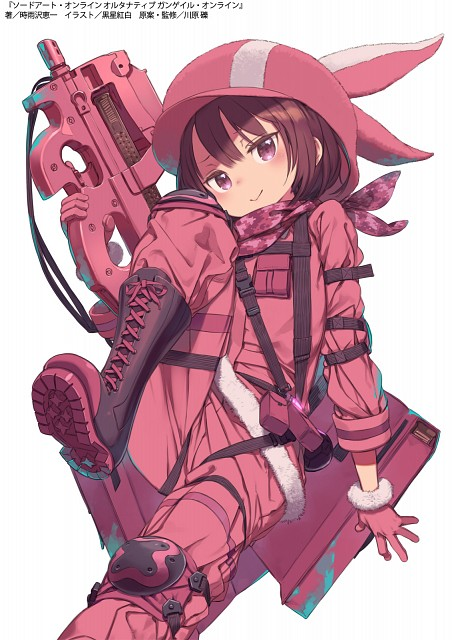 Kouhaku Kuroboshi, Studio 3hz, Sword Art Online Alternative: Gun Gale Online, Karen Kohiruimaki