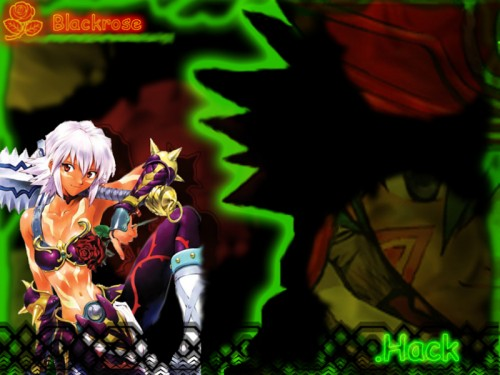 Yoshiyuki Sadamoto, .hack//Infection, Black Rose, Kite (.hack//infection) Wallpaper