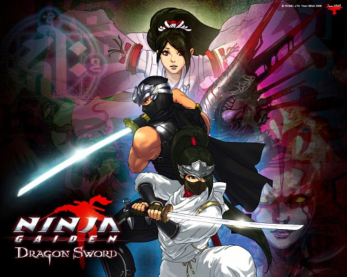 Tecmo, Ninja Gaiden, Momiji, Ryu Hayabusa, Official Wallpaper