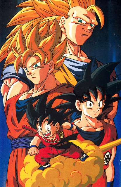Akira Toriyama, Toei Animation, Dragon Ball, Kid Goku, Super Saiyan Goku