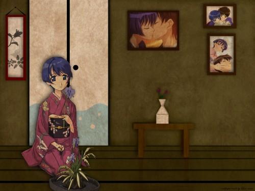 J.C. Staff, Ai Yori Aoshi, Kaoru Hanabishi, Aoi Sakuraba Wallpaper
