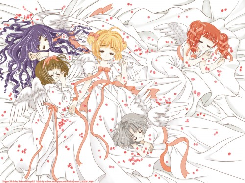 CLAMP, Madhouse, Card Captor Sakura, Tomoyo Daidouji, Sakura Kinomoto Wallpaper