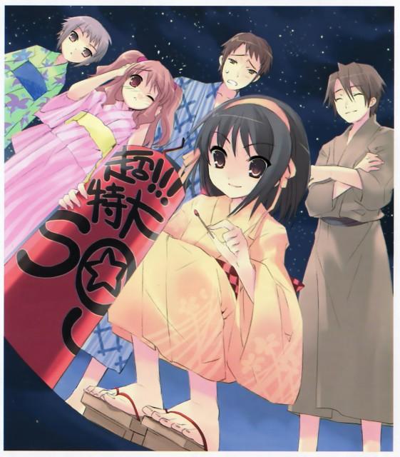 Noizi Ito, Kyoto Animation, The Melancholy of Suzumiya Haruhi, Kyon, Haruhi Suzumiya
