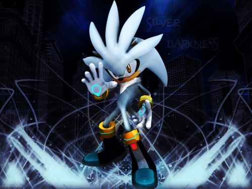 SNK, Sega, Sonic the Hedgehog, Silver The Hedgehog Wallpaper