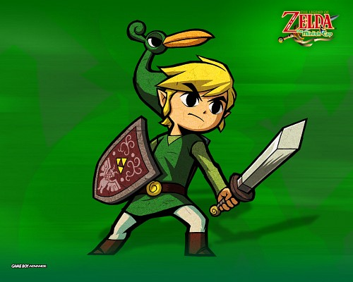 Nintendo, The Legend of Zelda: The Minish Cap, The Legend of Zelda, Toon Link, Link