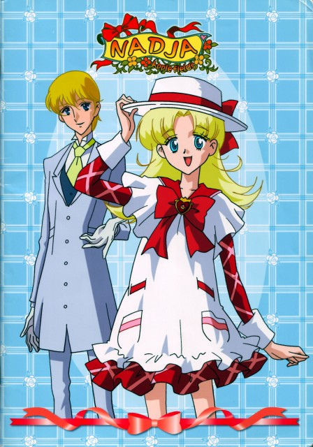 Toei Animation, Ashita no Nadja, Nadja Applefield, Francis Harcourt, DVD Cover