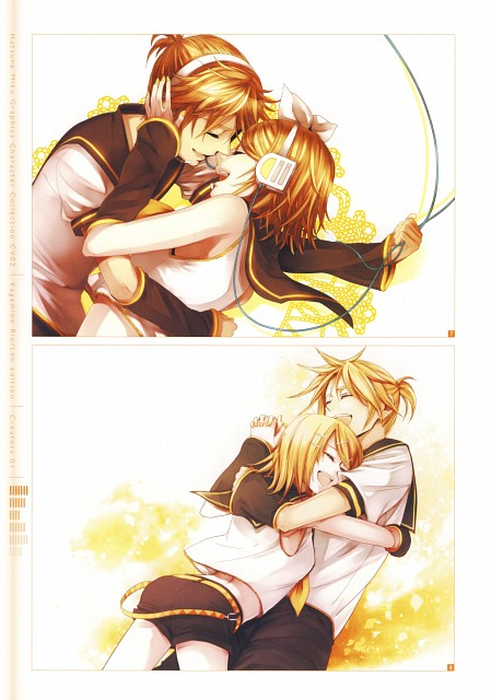 Suzunosuke, CV02 Kagamine Rin/Len, Vocaloid, Len Kagamine, Rin Kagamine