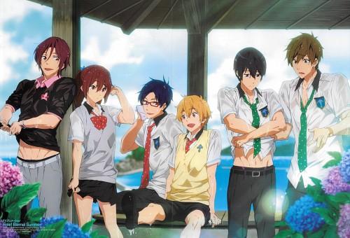 Kyoto Animation, Free!, Rin Matsuoka, Makoto Tachibana, Gou Matsuoka