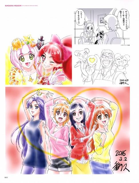 Go! Princess Precure, Fresh Precure!, Hisashi Kagawa Toei Animation Precure Works, Setsuna Higashi, Kazuki Ichijou