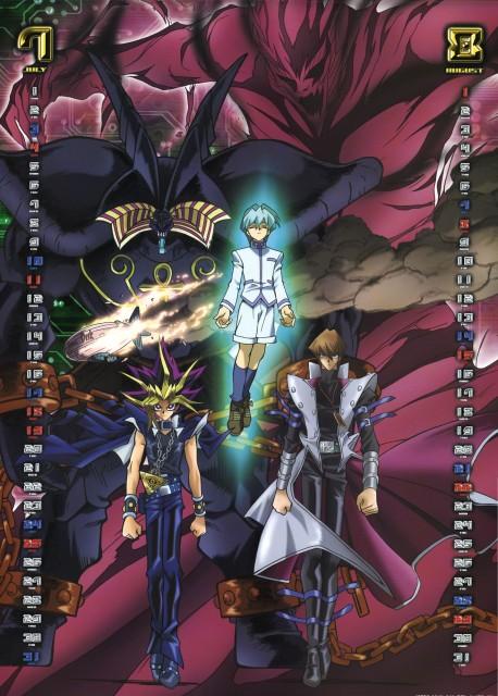 Kazuki Takahashi, Studio Gallop, Yu-Gi-Oh Duel Monsters, Yu-Gi-Oh 2004 Calendar, Noa Kaiba