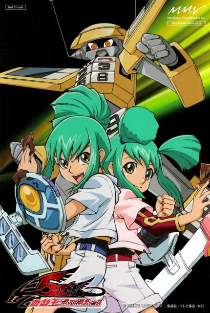 Kazuki Takahashi, Studio Gallop, Yu-Gi-Oh! 5D's, Luca (Yu-Gi-Oh 5D's), Lua