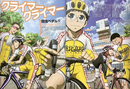 Wataru Watanabe, TMS Entertainment, Yowamushi Pedal, Yuusuke Makishima, Miki Kanzaki