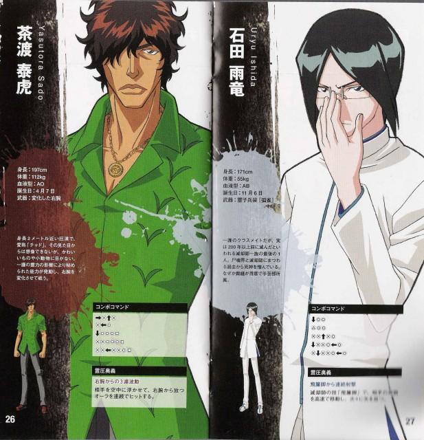 Studio Pierrot, Bleach, Uryuu Ishida, Yasutora Sado