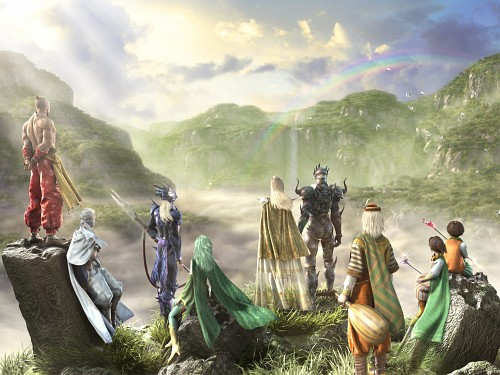 Square Enix, Final Fantasy IV, Yang Fang Leiden, Edge, Rydia