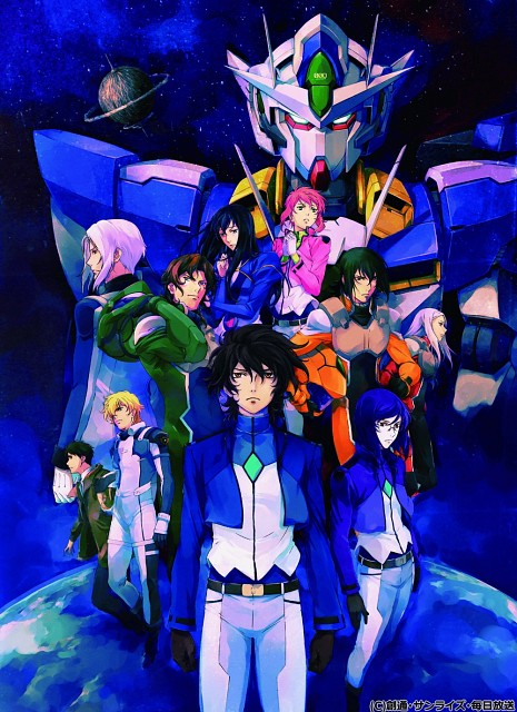 Sunrise (Studio), Mobile Suit Gundam 00, Tieria Erde, Soma Peries, Graham Aker