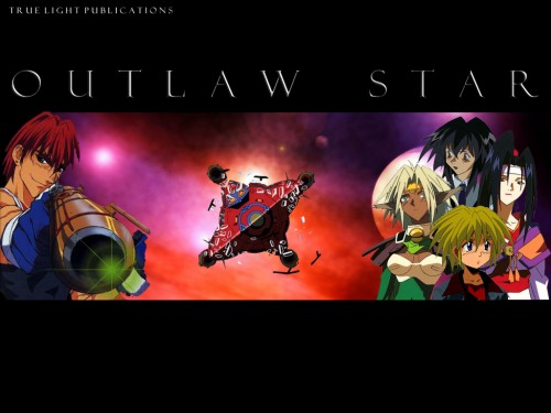 Sunrise (Studio), Outlaw Star, Twilight Suzuka, Jim Hawking, Gene Starwind Wallpaper