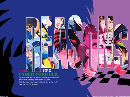 Future GPX Cyber Formula Wallpaper
