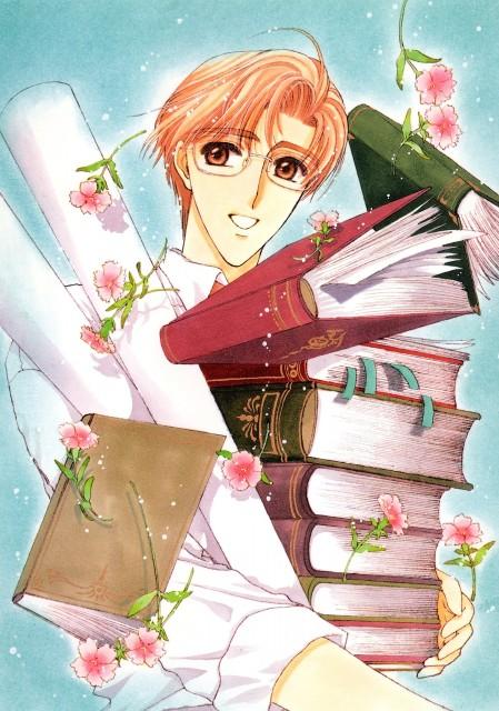 CLAMP, Cardcaptor Sakura, Cardcaptor Sakura Illustrations Collection 1, Fujitaka Kinomoto