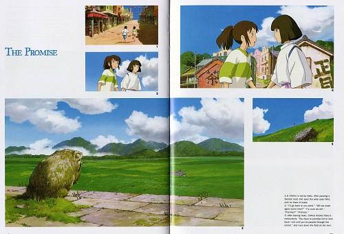 Kazuo Oga, Studio Ghibli, Studio Hibari, Spirited Away, The Art of Spirited Away