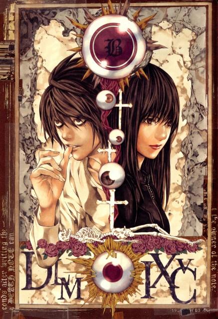 Takeshi Obata, Death Note, L, Naomi Misora, Manga Cover