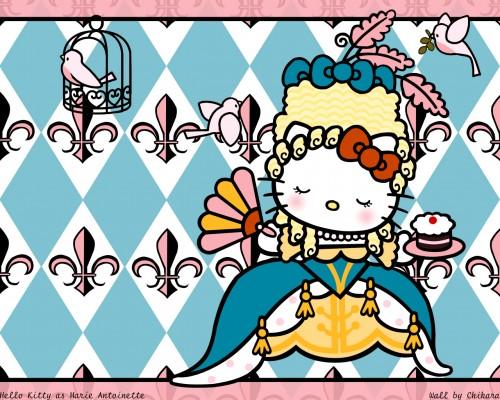 Sanrio, Hello Kitty (Series), Vector Art Wallpaper