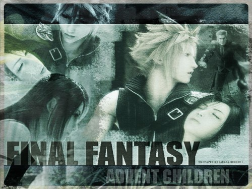 Final Fantasy VII: Advent Children, Cloud Strife, Tifa Lockhart, Loz Wallpaper