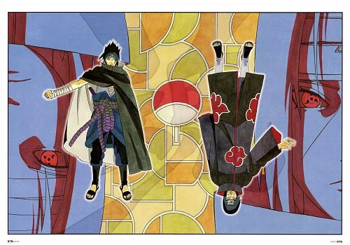 Masashi Kishimoto, Naruto, NARUTO Illustrations, Sasuke Uchiha, Itachi Uchiha